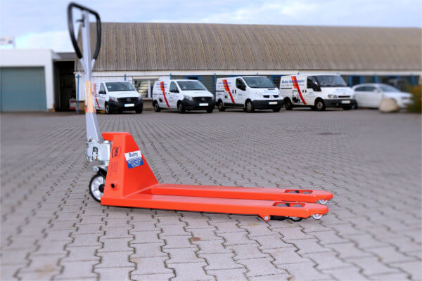 Budny Gabelstapler - Hubwagen rot